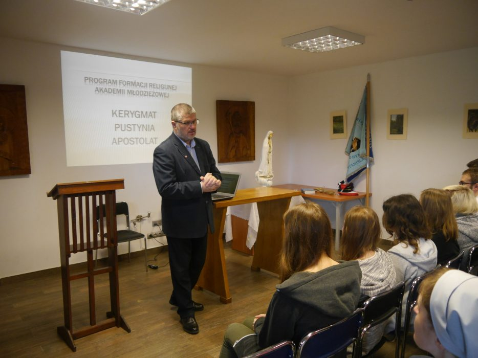 Adwentowe rekolekcje w Akademii Młodzieżowej